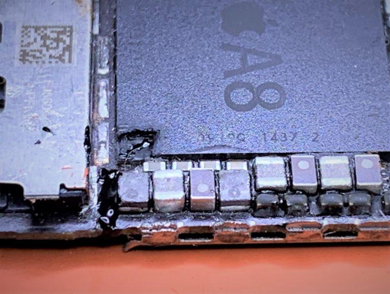 iPhone 6 plus error 9 CPU dig